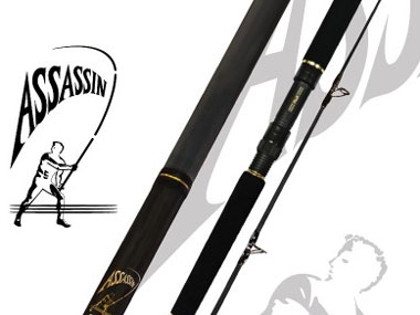 Assassin Spin Master Spin Jig Rods