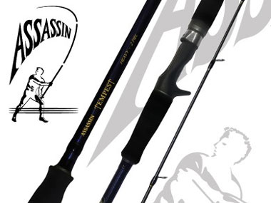 Assassin Tempest Spinning Rods