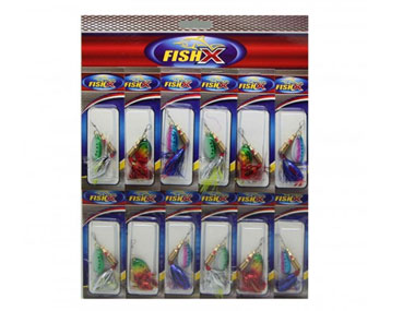 FishX Minnow Spinner-Kit