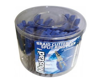 Mustad Braid Cutter & S/Ring Pliers