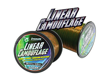 Linear Camoflage Fishing Line