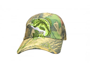 Cap Camo Fishermans Embroided