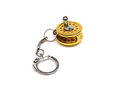 Mini Spinning Reel Keychain